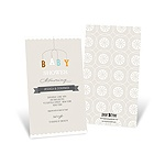 Mobile Memories -- Neutral Baby Shower Invitations