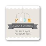 Mobile Memories -- Baby Shower Address Labels