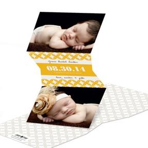 V-Cut Lattice -- Birth Announcements