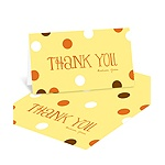 Whimsical Welcome -- Polka Dot Thank You Cards