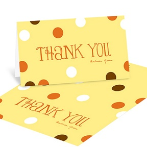Whimsical Welcome -- Baby Shower Thank You Cards