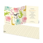 Alphabet Animals -- Jungle Theme Baby Shower Invitations