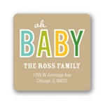 Baby Talk -- Baby Address Labels