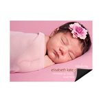 Lasting Introduction Horizontal Photo -- Magnet Birth Announcements