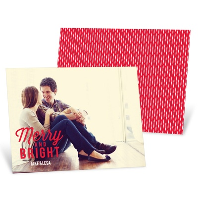 Favorite Carols Horizontal Christmas Cards