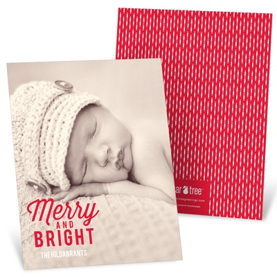 Favorite Carols Vertical Holiday Photo Cards