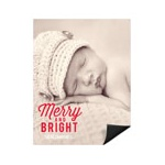 Festive Phrase Vertical Photo -- Christmas Photo Magnets