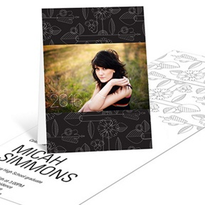 Flower Power -- Graduation Announcements