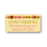 Beads and Bubbles  -- Graduation Address Labels