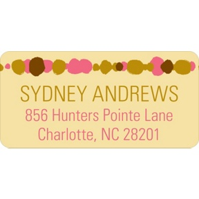 Beads & Baubles -- Graduation Address Labels