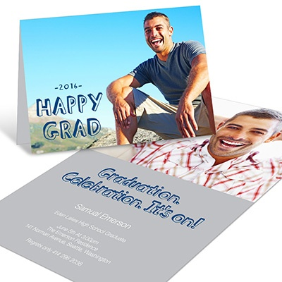 Happy Grad  -- Graduation Announcements