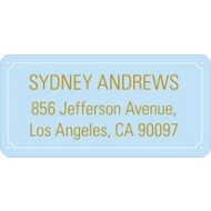 Party Tape Graduation Address Labels