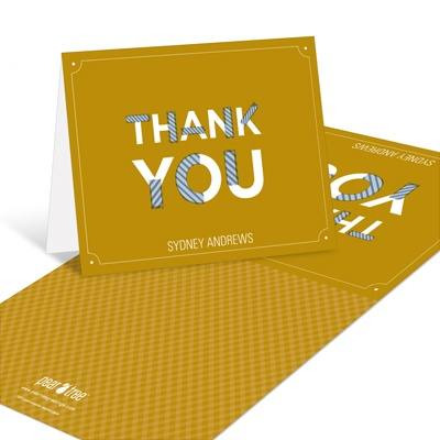Party Tape Graduation Thank You Cards