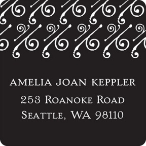 Embellished Year -- Graduation Address Labels