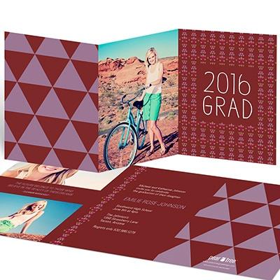Southwest Style College Graduation Announcements