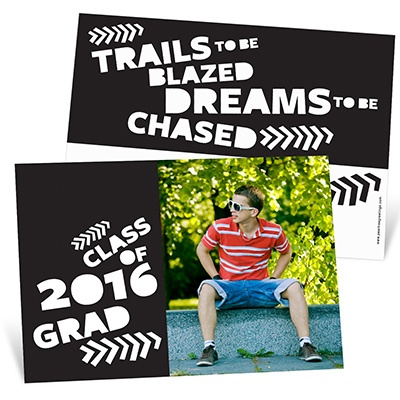 Trail Blazer -- Graduation Announcements