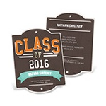 Retro All Star -- Graduation Announcements