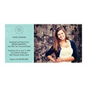 Photo Paper Graduation Announcements
