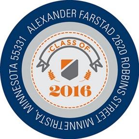 Class Seal -- Graduation Address Labels