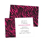 Wild Print -- Graduation Announcements