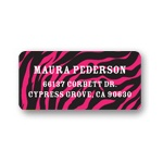 Wild Print -- Graduation Address Labels