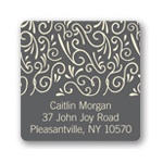 Soft Swirls -- Graduation Address Labels