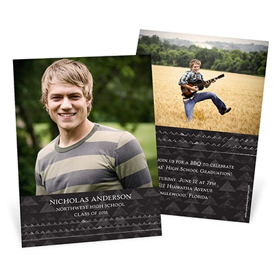 Mountains to Climb -- Graduation Invitations