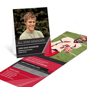 All Star -- Graduation Announcements