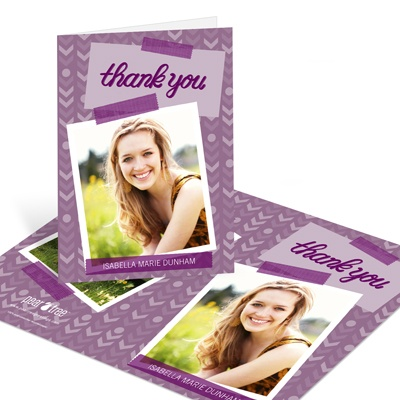 Going My Way Graduation Thank You Cards