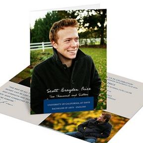 Simple Fold -- Graduation Announcements