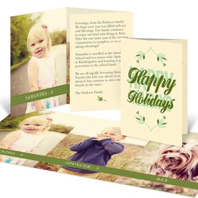 Storybook Christmas Holiday Photo Cards