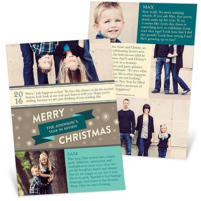 Winter Wonderland Photo Christmas Cards