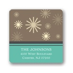 Winter Wonderland -- Snowflake Address Labels