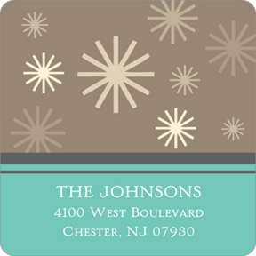 Winter Wonderland -- Christmas Address Labels