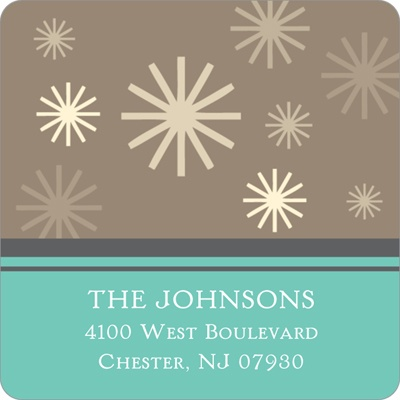 Winter Wonderland Christmas Address Labels