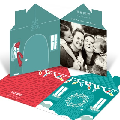 Home For The Holidays -- Holiday Photo Cards