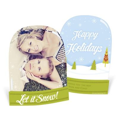 Peek Into Wonderland Holiday Photo Cards