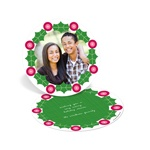 Wreath Frame -- Circle Christmas Cards