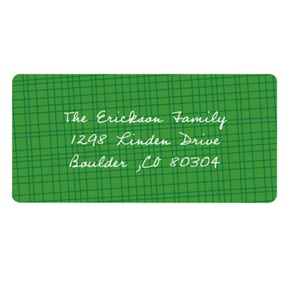 Textured Background -- Christmas Address Labels