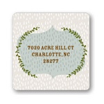 Falling Flakes -- Christmas Address Labels