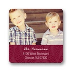 Pine Design -- Christmas Address Labels