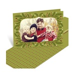 Festive Framework Horizontal-- Traditional Christmas Cards