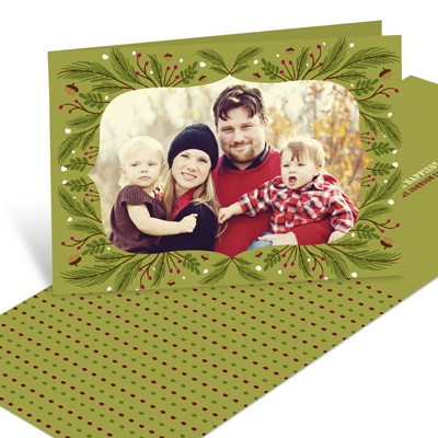 Festive Framework -- Horizontal Holiday Photo Cards