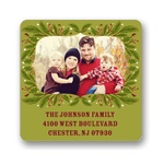 Festive Framework -- Holiday Address Labels