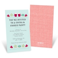 Holiday Warmth Holiday Party Invitations