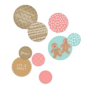 Gingerbread Joy Table Decor -- Party Decorations