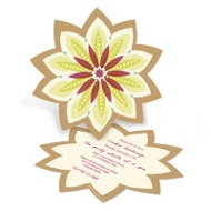 Sweet Starburst Holiday Party Invitations