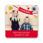 Cheers to the Year -- Holiday Address Labels