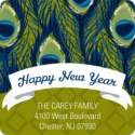 New Year's Address Labels