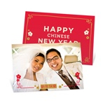 Customary Celebration Horizontal Photo-- Chinese New Year Cards